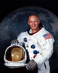 Buzz Aldrin, shown here in July 1969, is Florida Tech's newest professor!