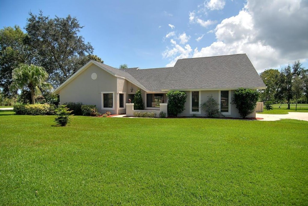 Price Just Reduced on This Suntree Pool Home on Golf Course!