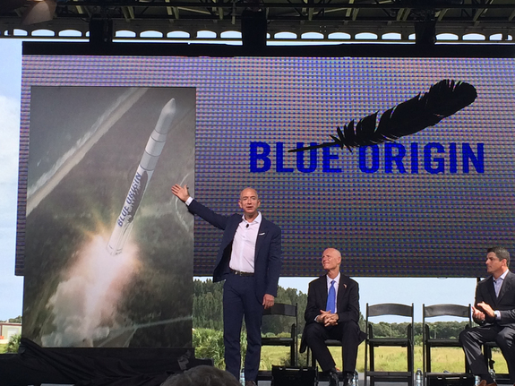 Blue Origin will build and launch rockets from Cape Canaveral (photo: Space.com)
