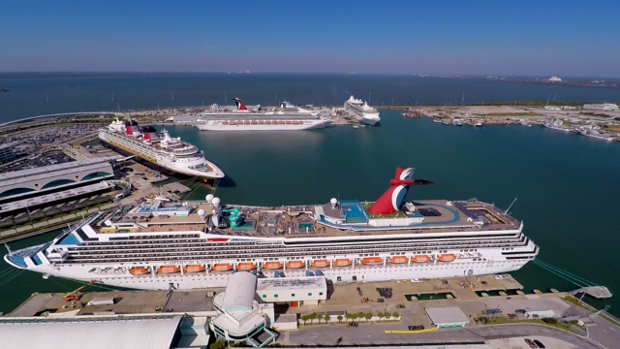 "Port Canaveral Named ""Best North American Homeport"" Photo: wesh.com"