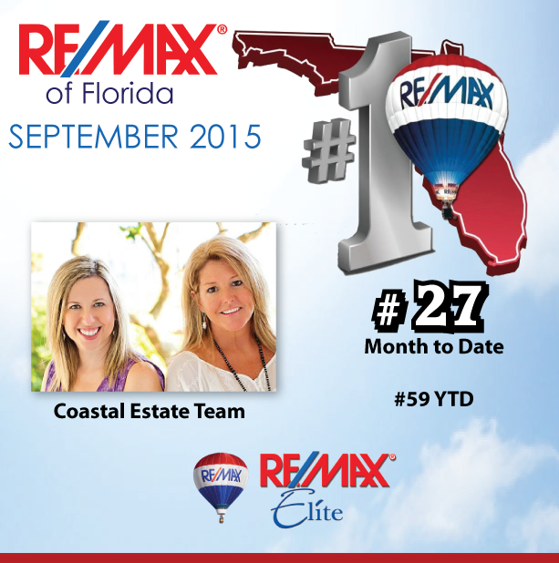 The Coastal Estate Team ranks among top Realtors in Florida!