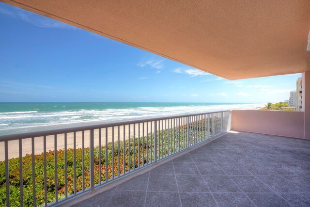 Stunning Views of the Atlantic from the sprawling oceanfront balcony