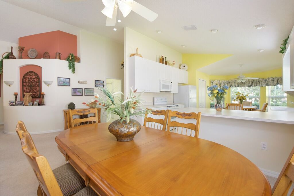 Dining Room, Kitchen, and Breakfast Nook