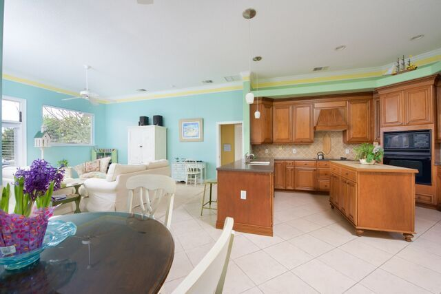 Kitchen is open to the Family Room and Breakfast Nook
