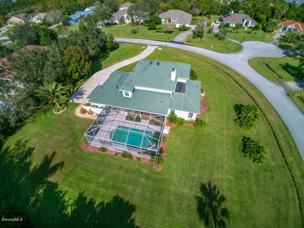 Situated on a private 0.6 acres