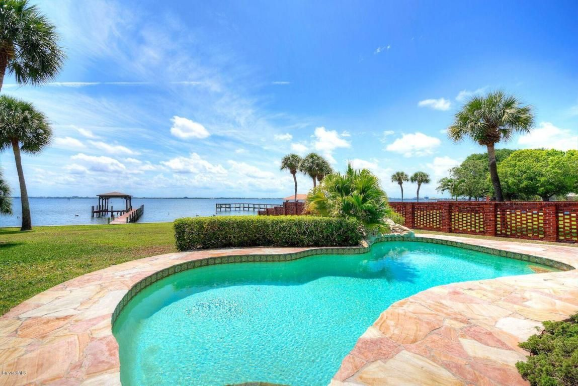 Just sold 300 s riverside dr melbourne beach fl for Private swimming pool melbourne