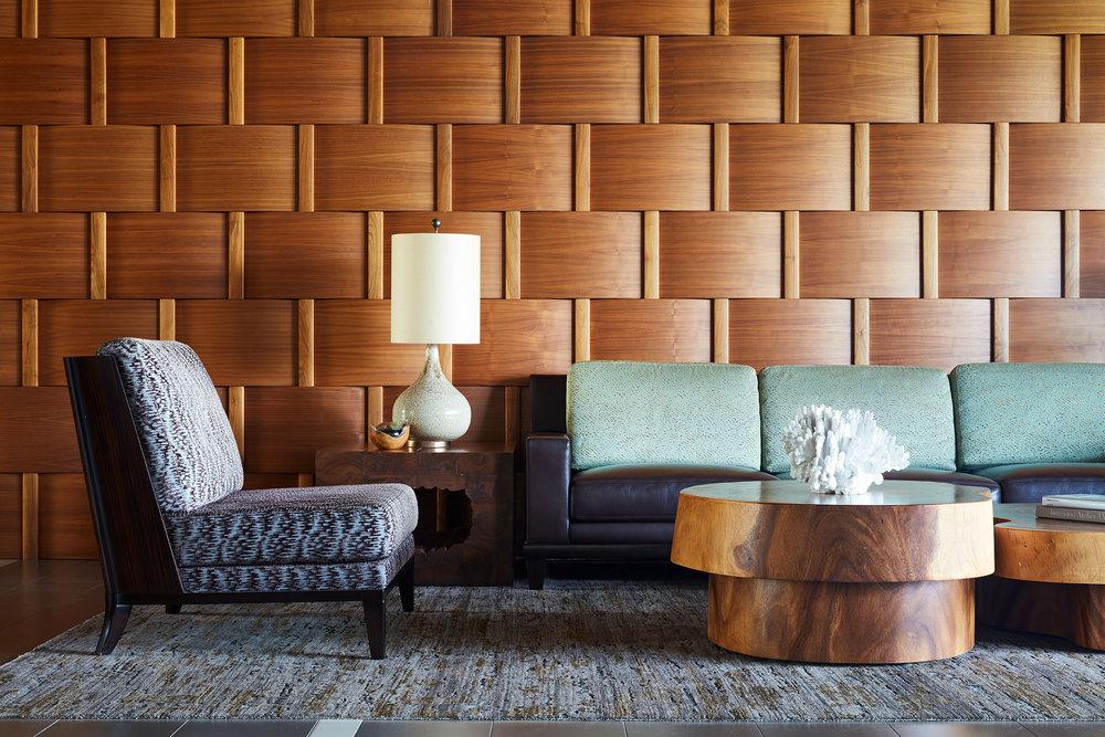 lounge at one ala moana oahu luxury condo