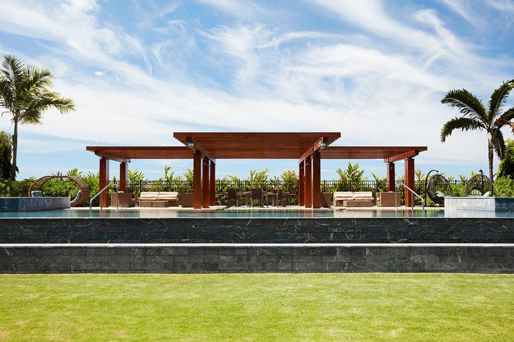 pool and spa at one ala moana oahu hawaii