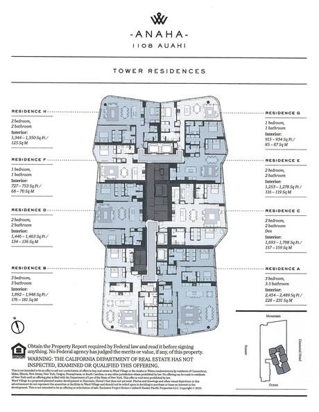 Anaha Floor plans