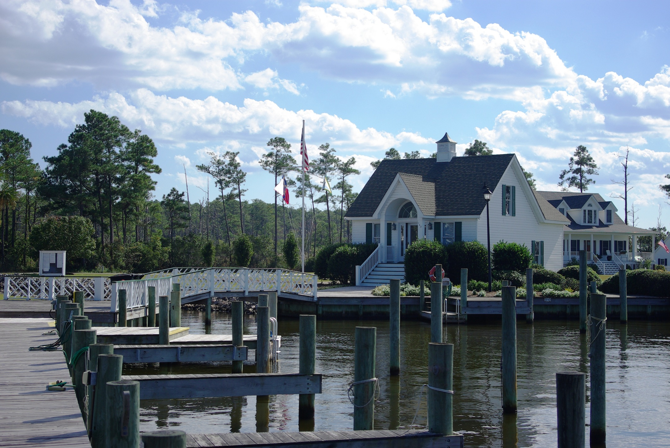 Heritage Point clubhouse, Manteo NC