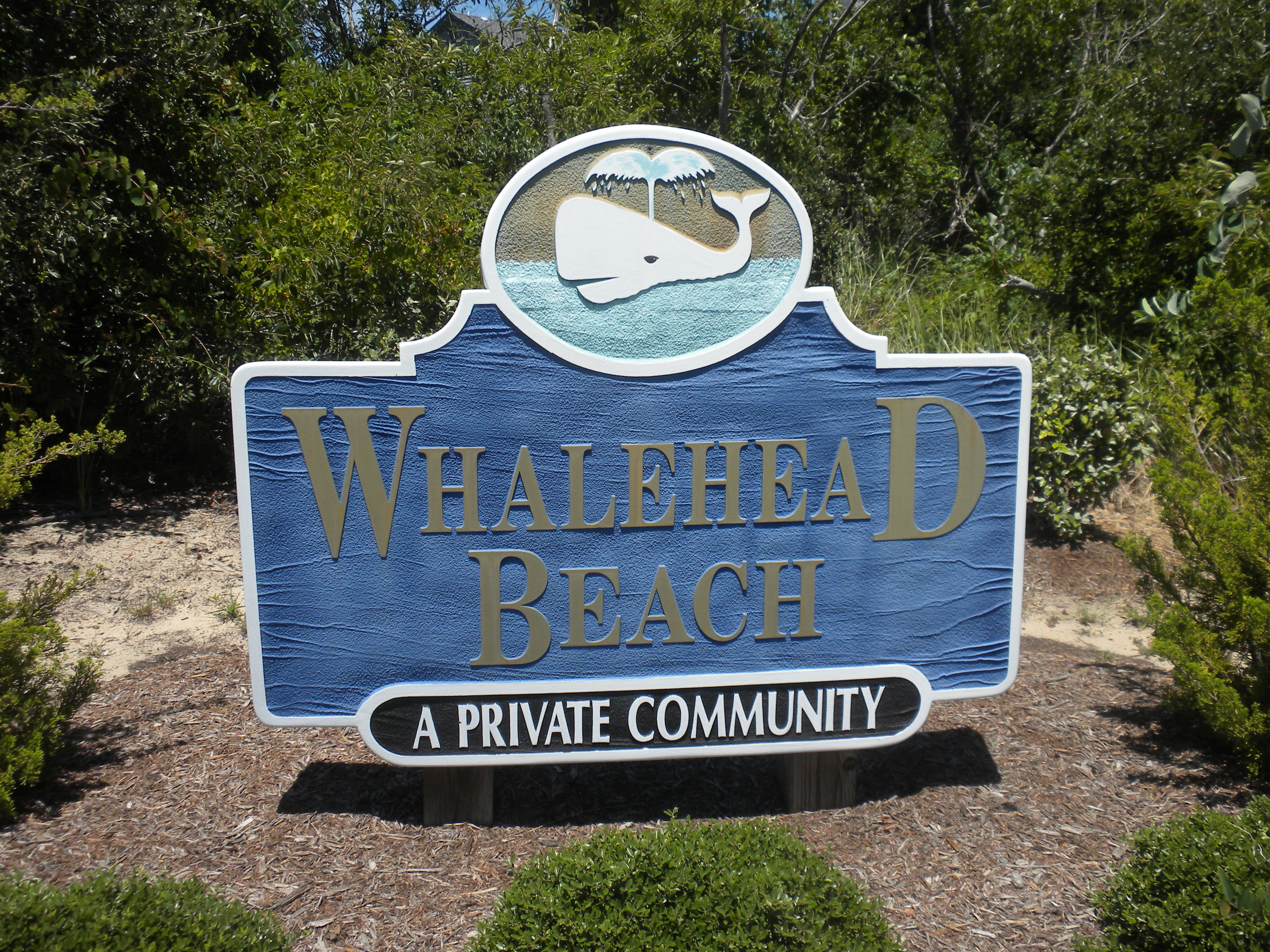 Whalehead Beach logo Corolla NC