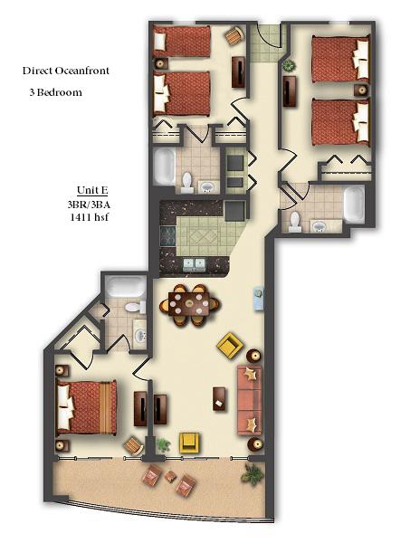 1 Floor Motel Hotel Design Dwg Download Cadblocksfree Cad