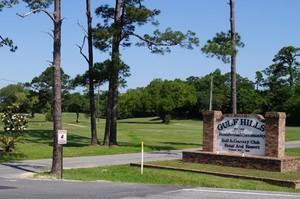 Gulf Hills Entrance