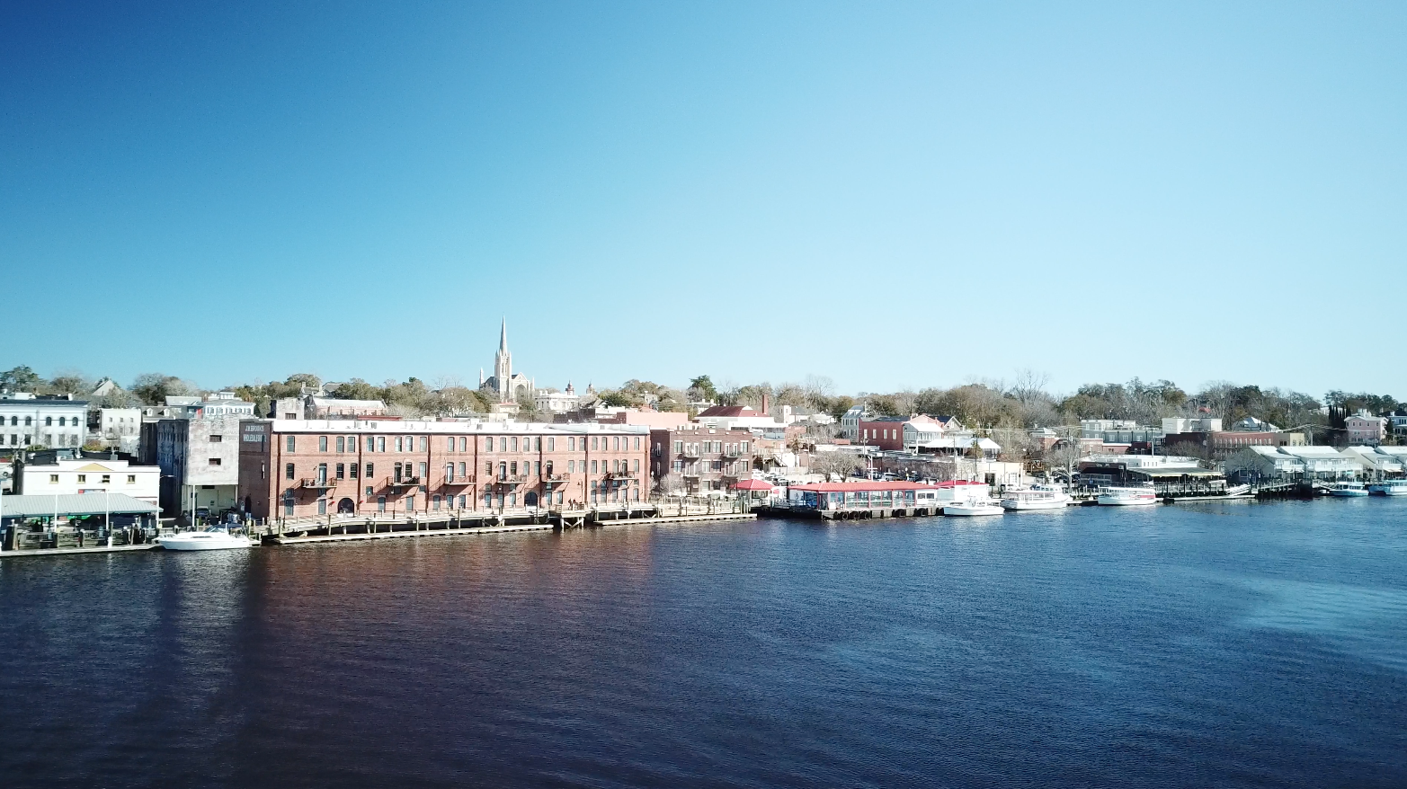 Riverfront Downtown Wilmington NC