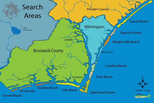 Nc Coast Map North Carolina Beaches List Inspiring World Map