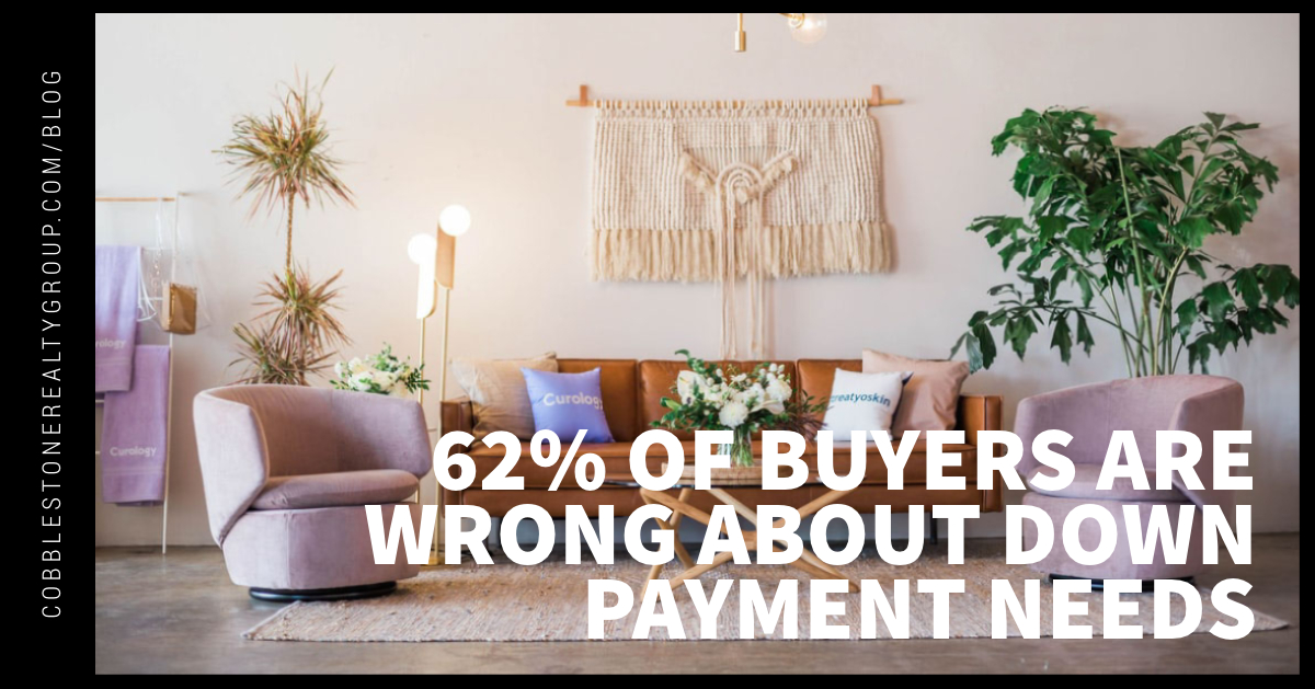62% of Buyers Are Wrong About Down Payment Needs