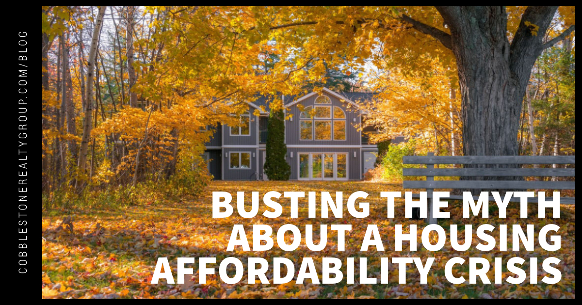 Busting the Myth About a Housing Affordability Crisis