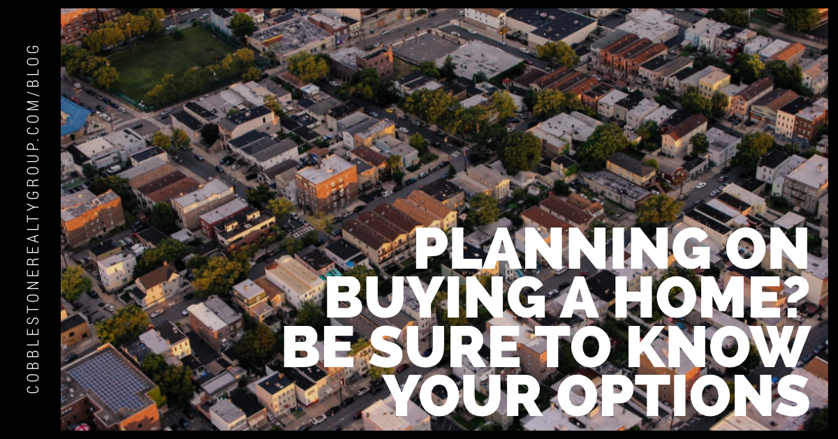 Planning on Buying a Home? Be Sure You Know Your Options