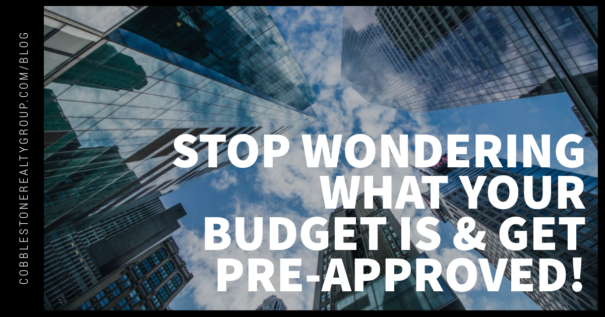 Stop Wondering What Your Budget Is