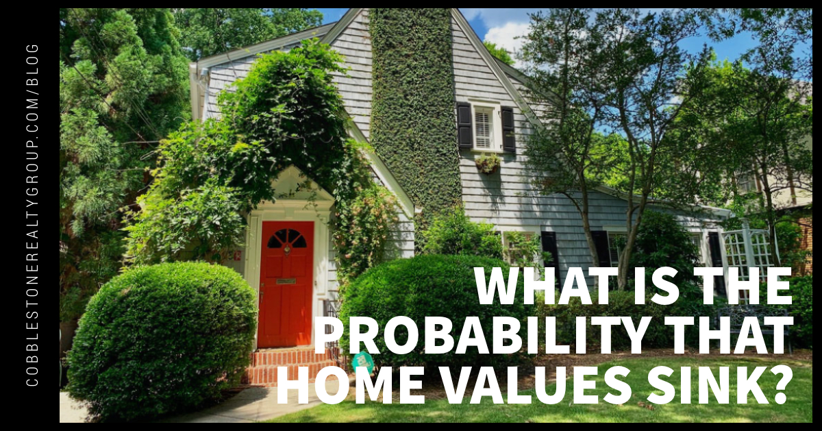 What Is the Probability That Home Values Sink