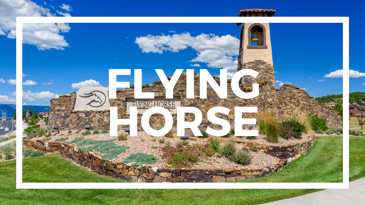 Colorado New Homes For Sale in Flying Horse