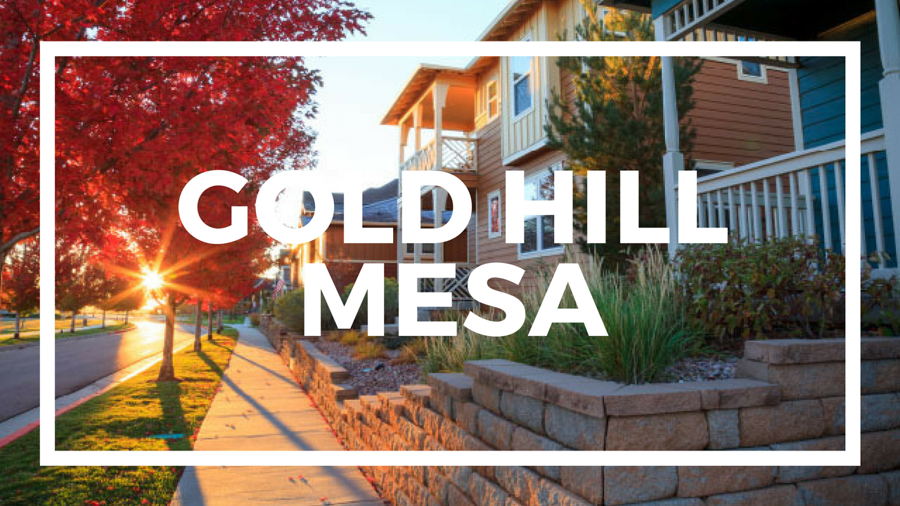 Colorado Springs New Homes For Sale in Gold Hill Mesa