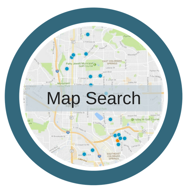 Colorado Springs Homes For Sale Map Search