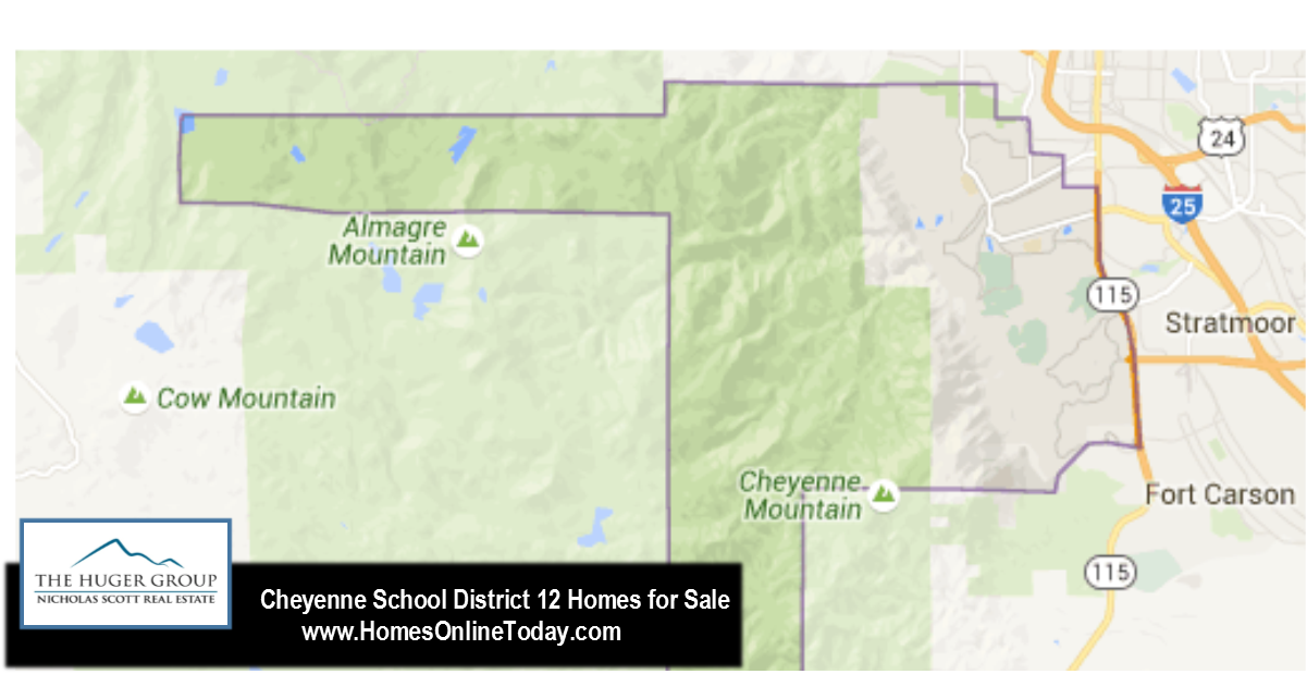 Cheyenne Mountain School District 12 Information and Homes for Sale