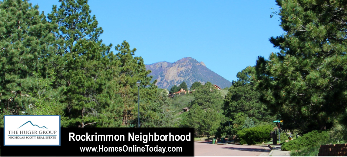 Rockrimmon Colorado Springs Neighborhood Information and Home Search