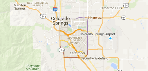 Southeast Colorado Springs Map and Information, Real Estate Homes fro Sale