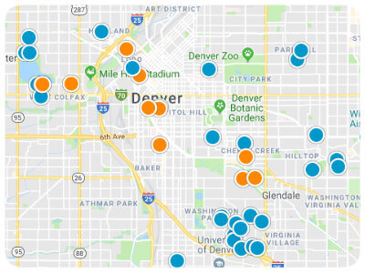 Colorado Real Estate Map Search