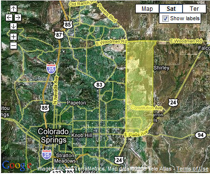Search Powers foreclosure homes for sale by map