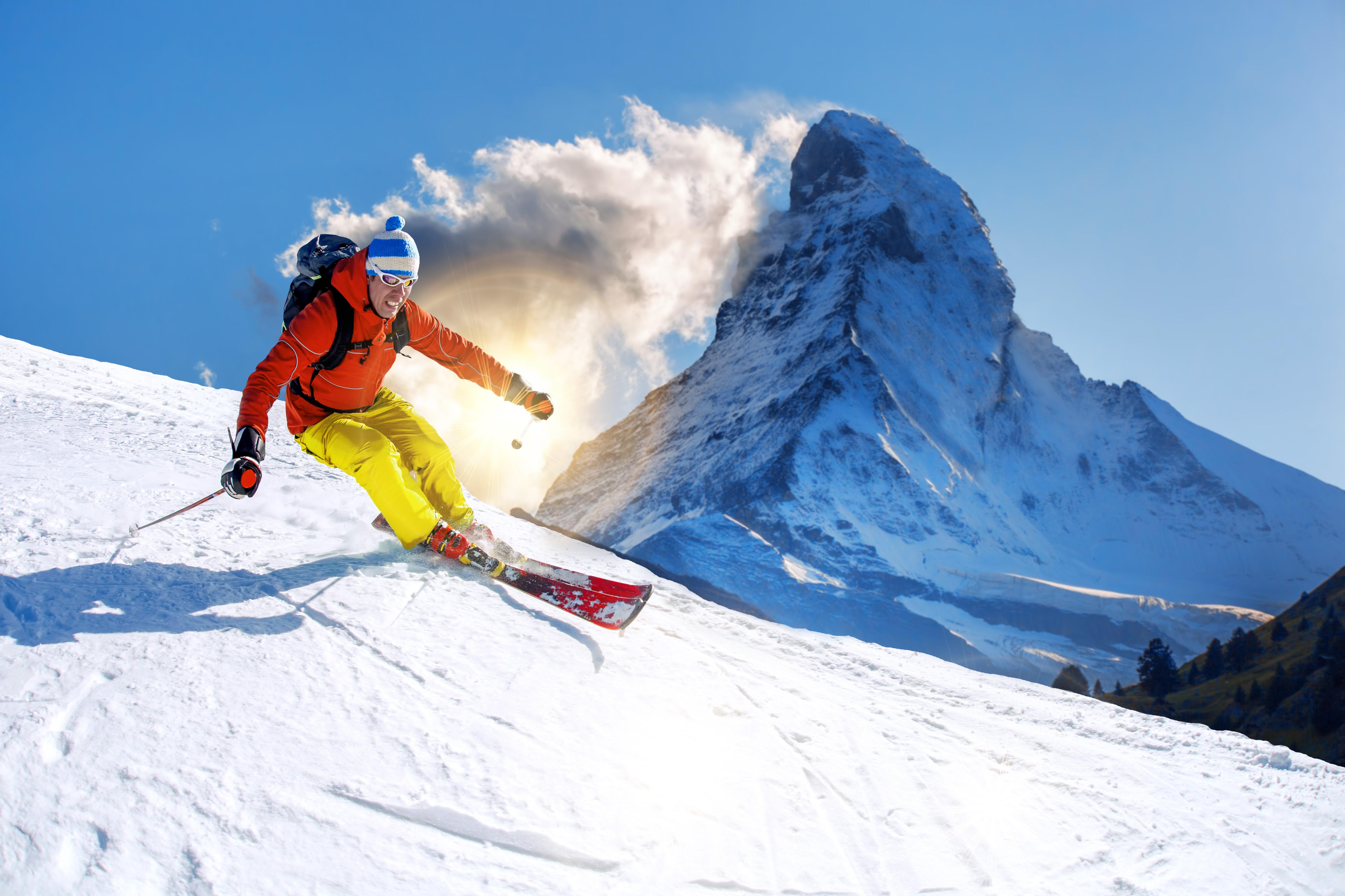Snowboard Skiiing