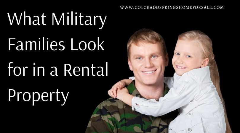 What Military Families Look for in a Rental