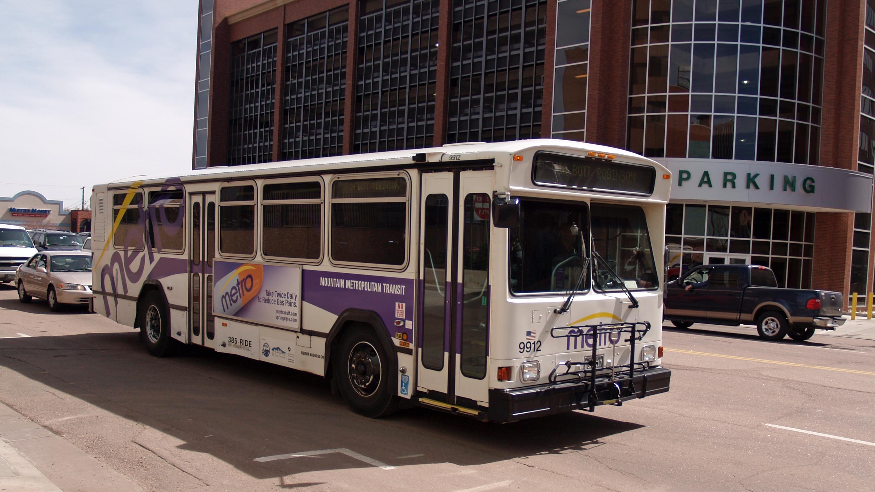 Mountain Metro Bus Service Colorado Springs