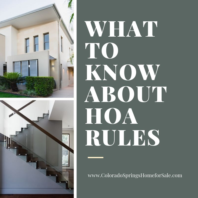 What to Know About HOA Rules