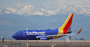 Southwest Airlines Airplane photo landing at Colorado Springs Airport