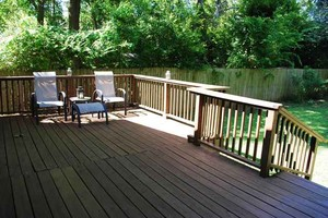 Elmwood Park Rear Deck