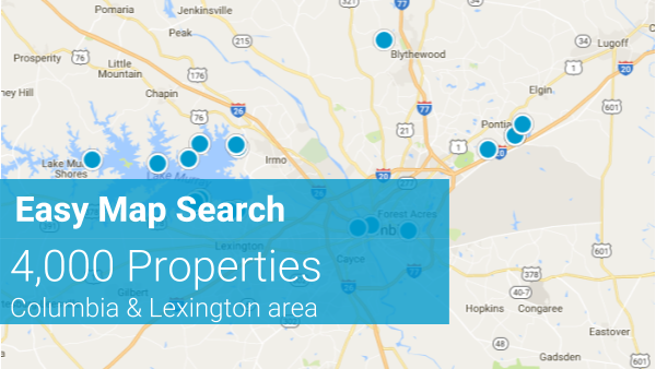 Easy Map Search - Search All Homes for Sale
