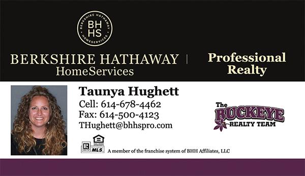Taunya Hughett Realtor - The Buckeye Realty Team - Berkshire Hathaway HomeServices Professional Realty