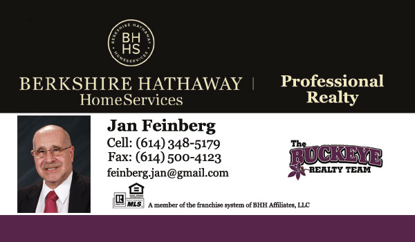 Jan Feinberg Realtor - The Buckeye Realty Team - Berkshire Hathaway HomeServices Professional Realty