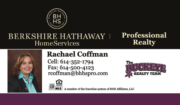 Rachael Coffman Realtor - The Buckeye Realty Team - Berkshire Hathaway HomeServices Professional Realty