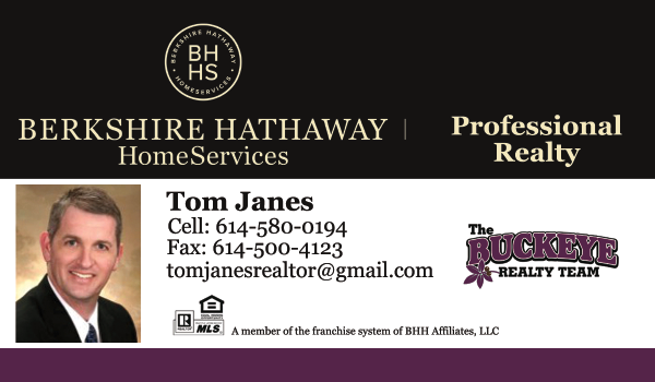 Tom Janes Realtor - The Buckeye Realty Team - Berkshire Hathaway HomeServices Professional Realty