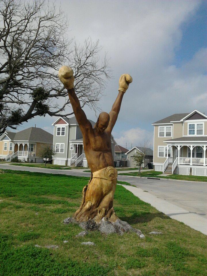 Carved Oak Galveston TX