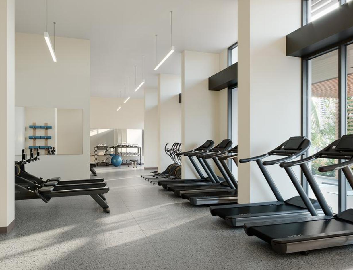 Ulana Ward Village Fitness Center