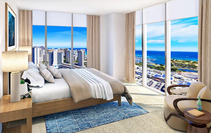 Azure Ala Moana Bedroom Condo