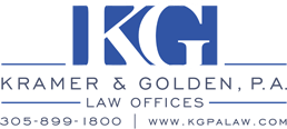 Legal Services Miami from Kramer & Golden, P.A.