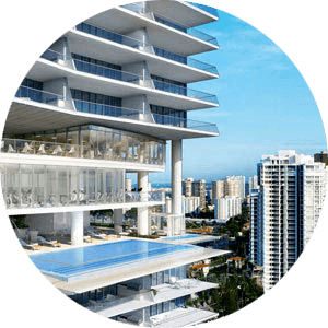Poinciana Island Sunny Isles Townhomes for Sale