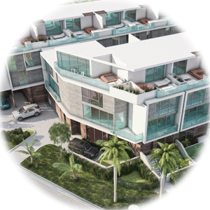Palm Villas Townhomes for Sale in Bay Harbor Isles