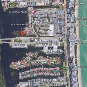 400 Sunny Isles Condo Location